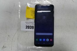 Samsung Galaxy S8 mobile phone 64gb (cracked screen)