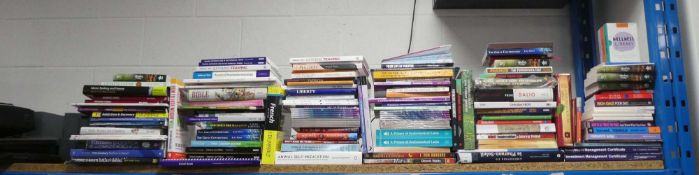 Wide selection of hardback and paperback reference materials inc. CUA, Haynes and Sage