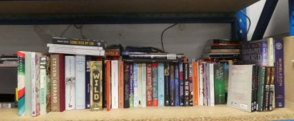 Selection of hardback and paperback novels inc. various publishers DK, VSP, Orbit and others