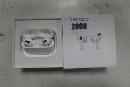 2097 Boxed pair of Apple AirPods Pro with wireless charging case and box