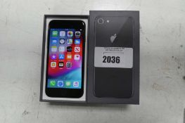 Apple iPhone 8 space grey 64gb mobile phone model A1905 (boxed)