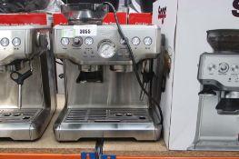 (66) Unboxed Sage Barista coffee machine