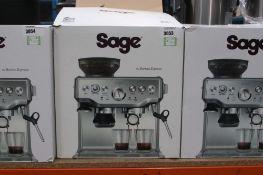 (59) Boxed Sage Barista coffee machine