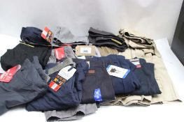 Large bag of assorted gents shorts incl. Hang 10, Wear First and Union Bay
