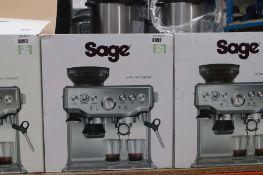 (58) Boxed Sage Barista coffee machine
