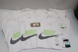 Bag of 12 Nike t-shirts in white