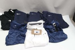 Mixed bag of sportswear incl. Under Armour and Adidas