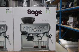 (57) Boxed Sage Barista coffee machine