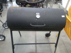 Charcoal barrel BBQ