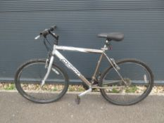 Magna mountain bike in silver