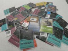 Bag containing quantity of Canon SLR camera guide pocketbooks