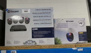 Swan Enforcer security system with a seperate box for 4K bullet cameras