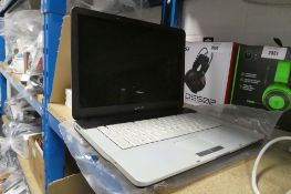 Sony Vaio laptop model VGN-FS315SE (no psu, sold for spares)