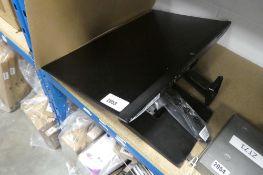 HP 27'' LCD monitor (broken stand, no psu)