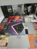 Box containing LP and 45 records to include Nirvana, Pink Floyd, Studio Killers, Princess