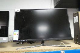 2189 - ViewSonic 32'' monitor (damaged, no accessories)