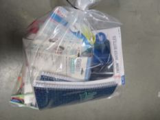 Bag of mixed assorted stationery