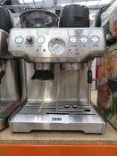 3056 - (TN12) Unboxed Sage Barista Express coffee machine (no other accessories)