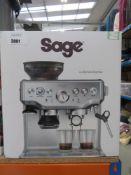 (TN67) Sage Barista Express coffee machine