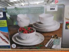 Arabesque dinnerware set