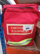 Emergency kit go to bag