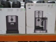 (TN68/9) Pump Espresso coffee machine plus another