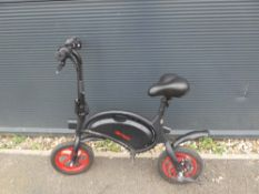 Small Jetson red electric bike
