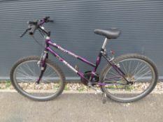 Purple Magna childs bike