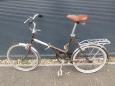 Foldup vintage bike
