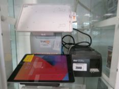 True POS stand for iPad together with an iPad 6th gen 32gb tablet and a Star Futureprint TSP 100