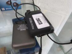 3 PocketJuice portable powerbanks