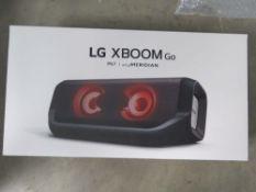 LG Xboom PN7 bluetooth speaker with box