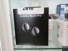 Galaxy Buds Pro earbuds in box