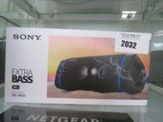 Sony Extrabass SRS-XB33 bluetooth speaker with box