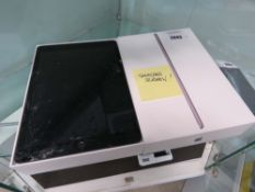 Apple iPad 8th gen wifi only 32gb model A2270 with box (smashed screen)