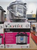 (33) Instant Pot Duo Evo Plus multi use pressure cooker