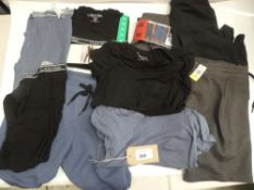 Bag of Calvin Klein and 32 Degree cool clothing in various styles and sizes