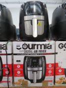 (7) Gourmet digital air fryer