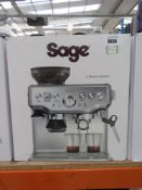 (28) Sage Barister Express coffee machine