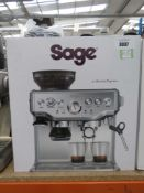 (7) Sage Barister Express coffee machine