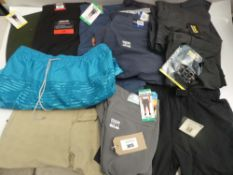 Bag of men's shorts to include Levi's, Jachs, Kirkland, etc in various sizes