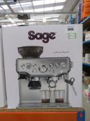 (29) Sage Barister Express coffee machine