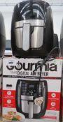 (5) Gourmet digital air fryer