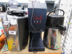Beer dispenser plus water dispenser and hot water dispenser