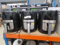 (42) 3 unboxed Gourmet digital air fryers