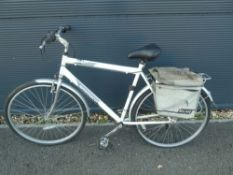Ammaco white and grey gents mountain bike
