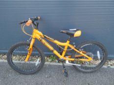 Orange childs Cudo bike