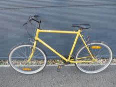 Yellow Williams gents mountain bike