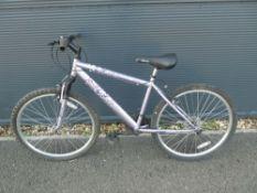 Lilac girls mountain bike