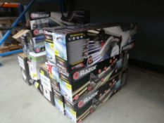 12 boxed electric scooters
